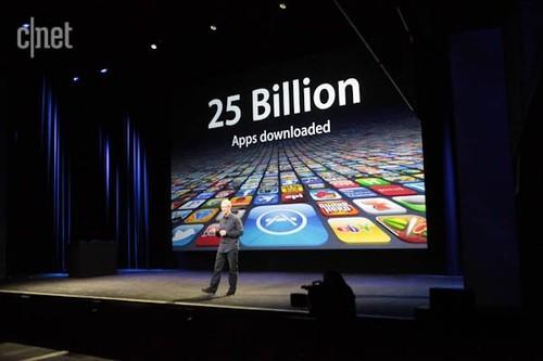 iOS应用突破250亿(图片来自互联网)