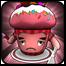 草莓松饼蛋糕