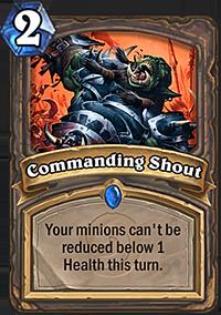 《炉石传说》各职业卡牌技能展示——战士篇