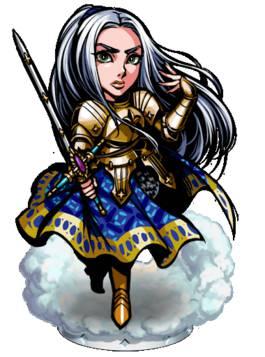 《热血兄弟》圣殿骑士 珍妮 Ⅱ