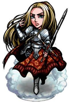 《热血兄弟》圣殿骑士 珍妮