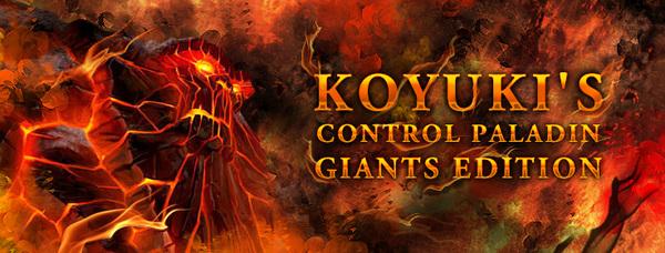 炉石传说巨人控制流圣骑士牌组构筑攻略