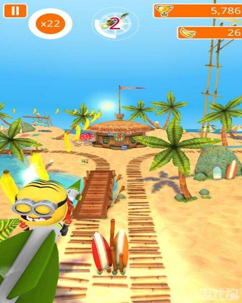 有沙滩,茅草房,海水,阳光